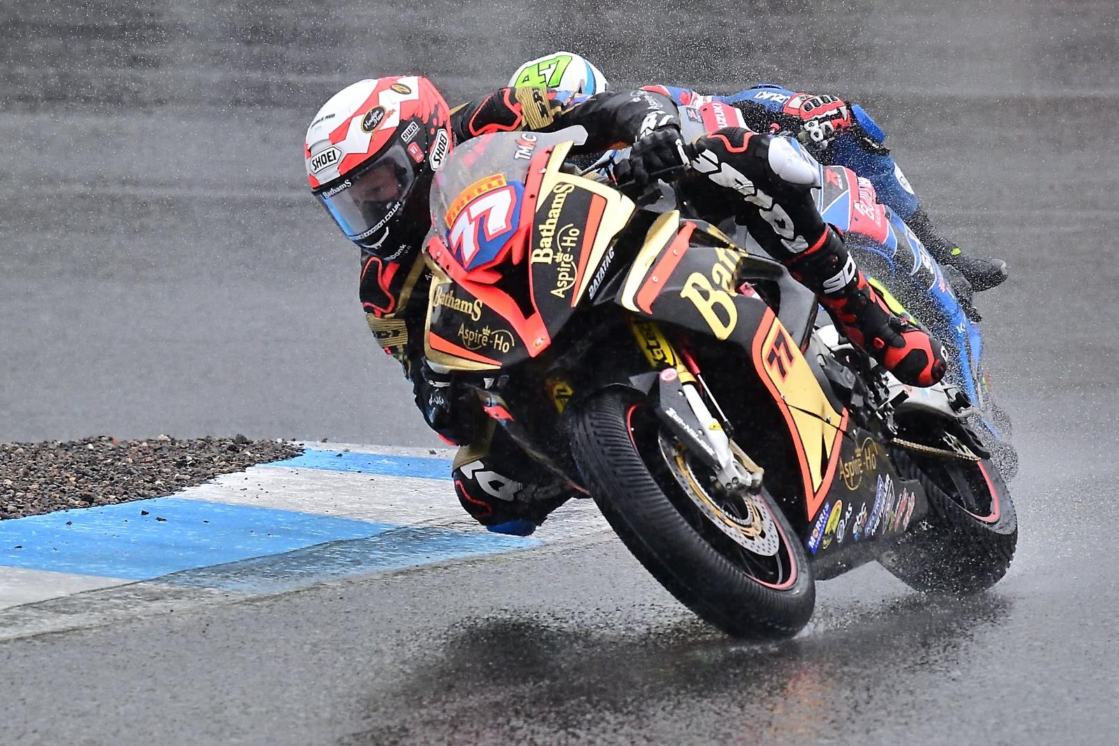Rain Soaked BSB Race ALISTAIR PETERSON
