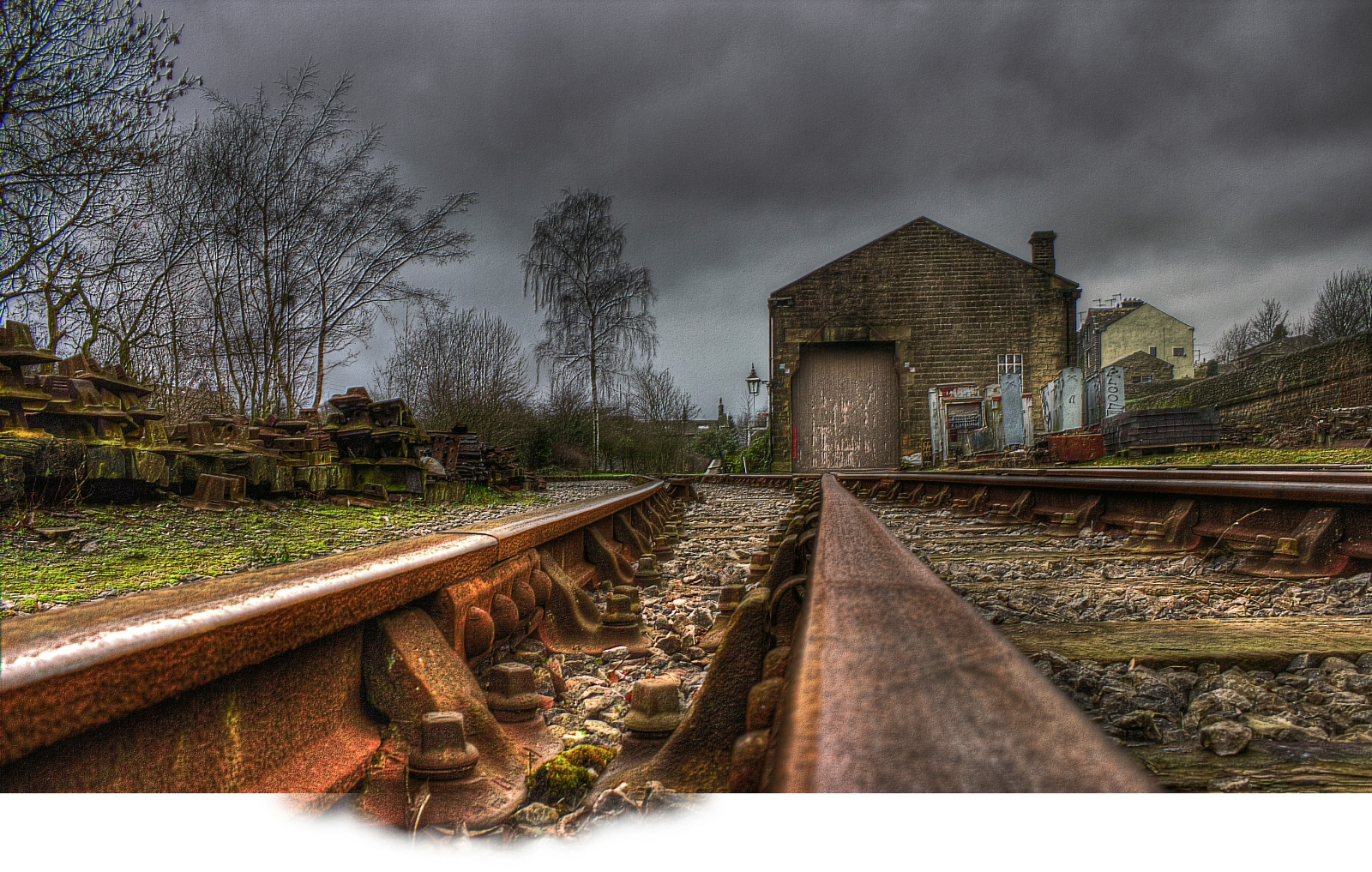 Oakworth Goods Yard- Ian Suffield